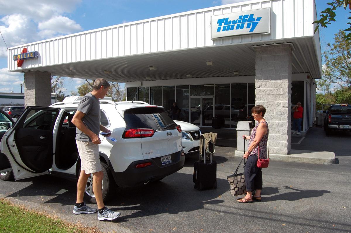 Thrifty Car Rental At Savannah Airport