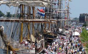 Tall Ships, a Part of Charleston's Maritime History