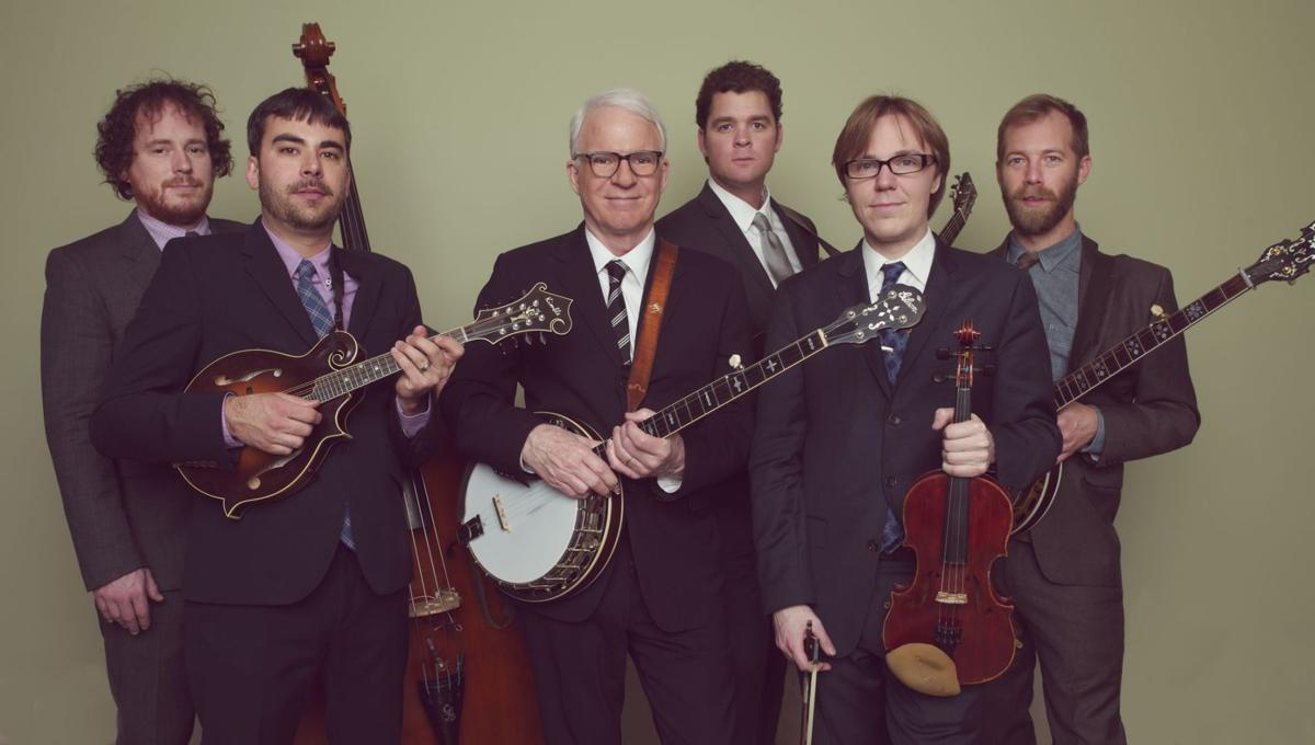 Steve Martin and the Steep Canyon Rangers Wild and crazy guys — with banjos