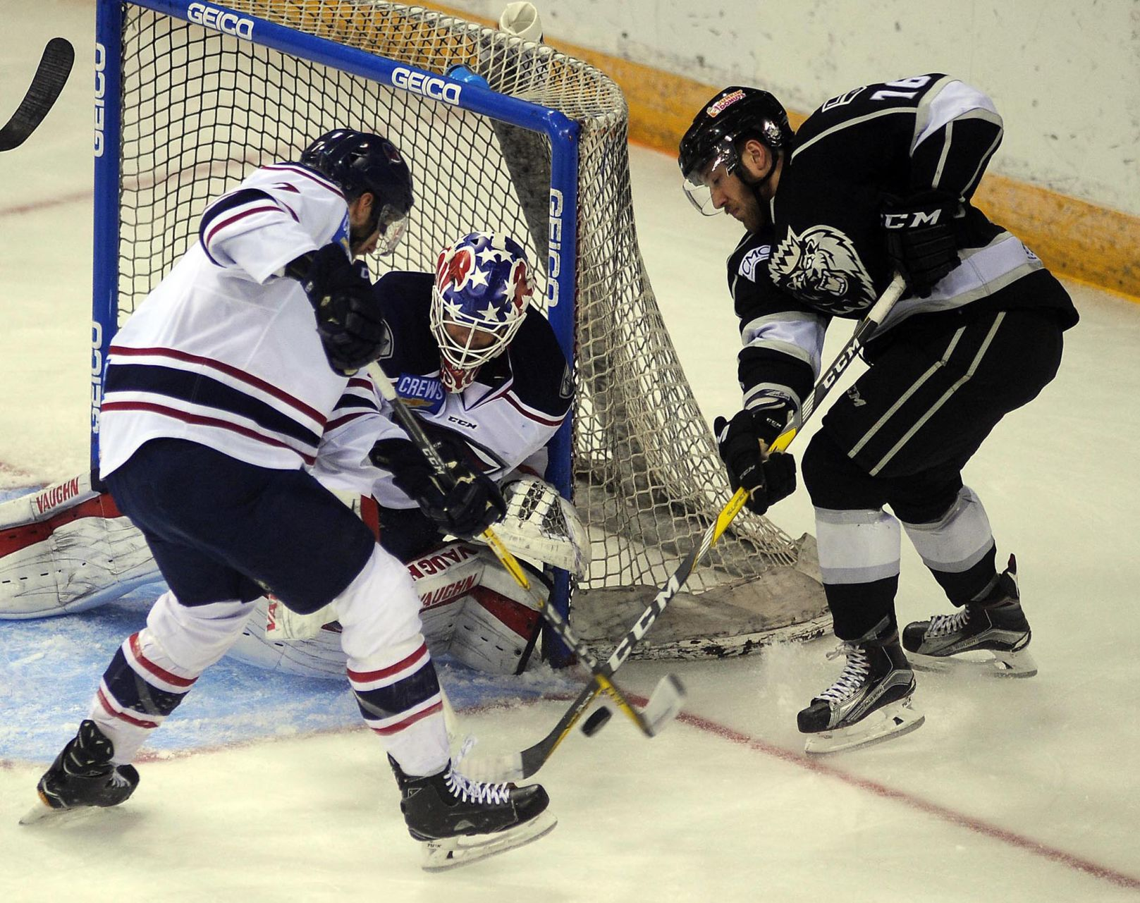 ECHL: Manchester Trounces Stingrays, 5-1; Forces Game 7 Wednesday Night