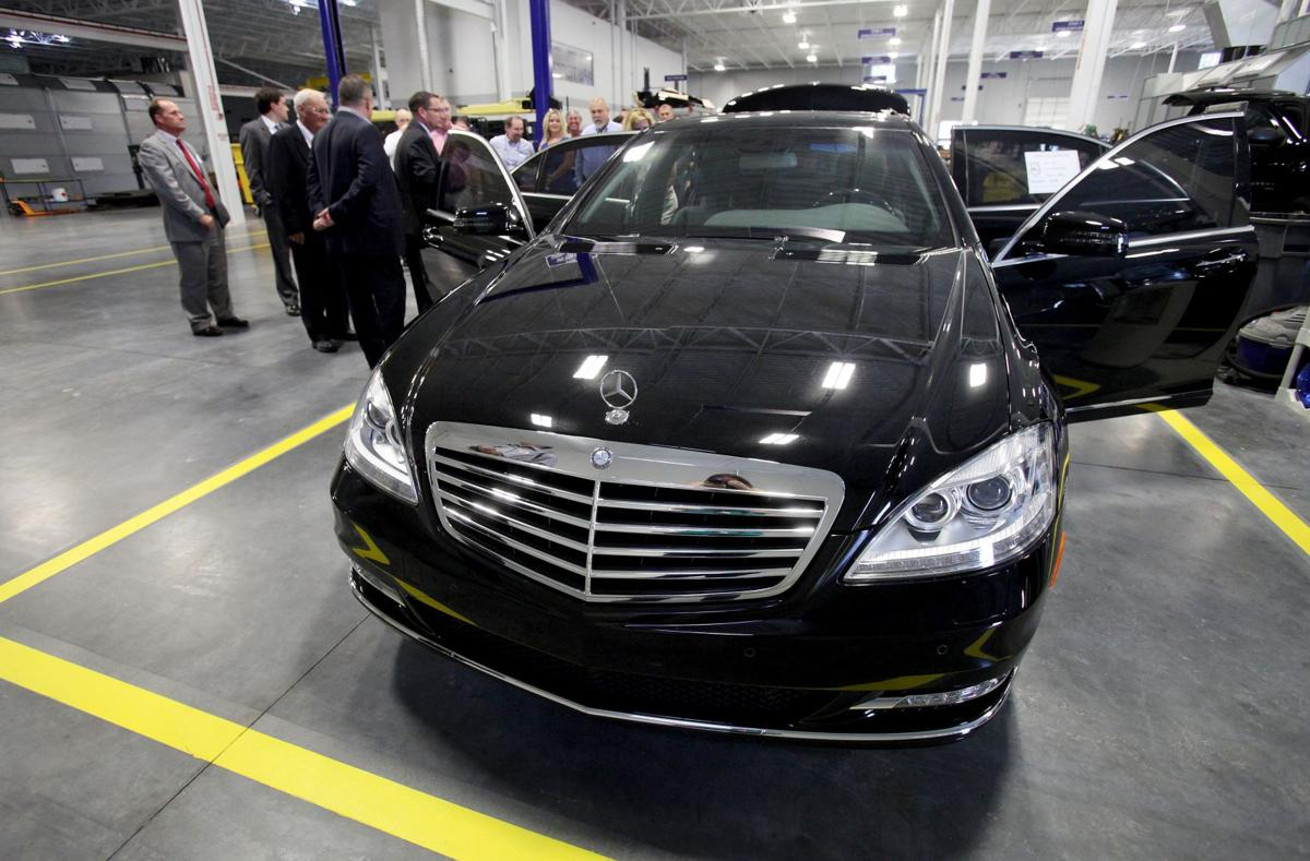 mercedes benz vans expands with north charleston
