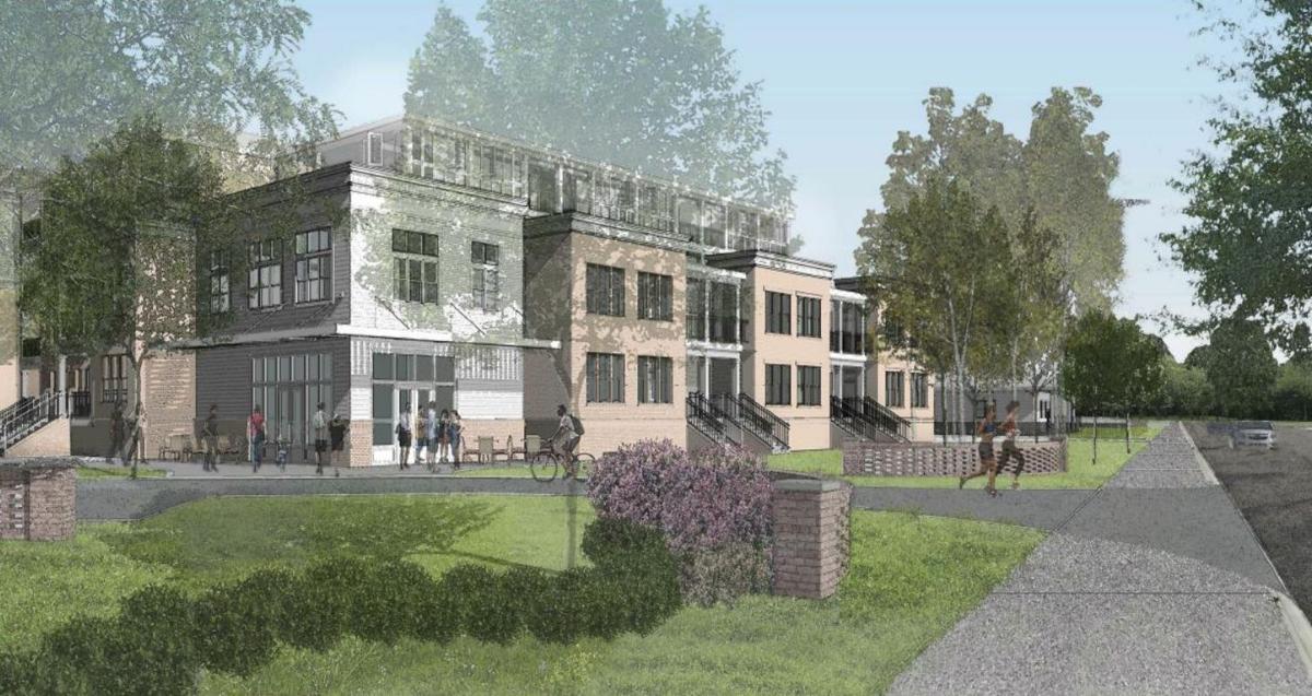 James Island Apartments concept
