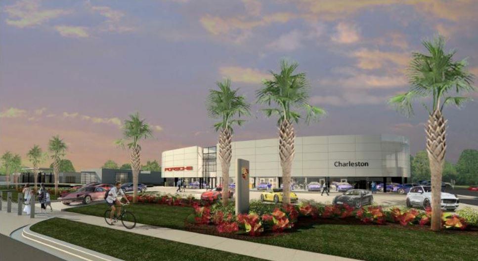 Baker motor co looks to build new porsche dealership in for Baker motors jaguar charleston sc