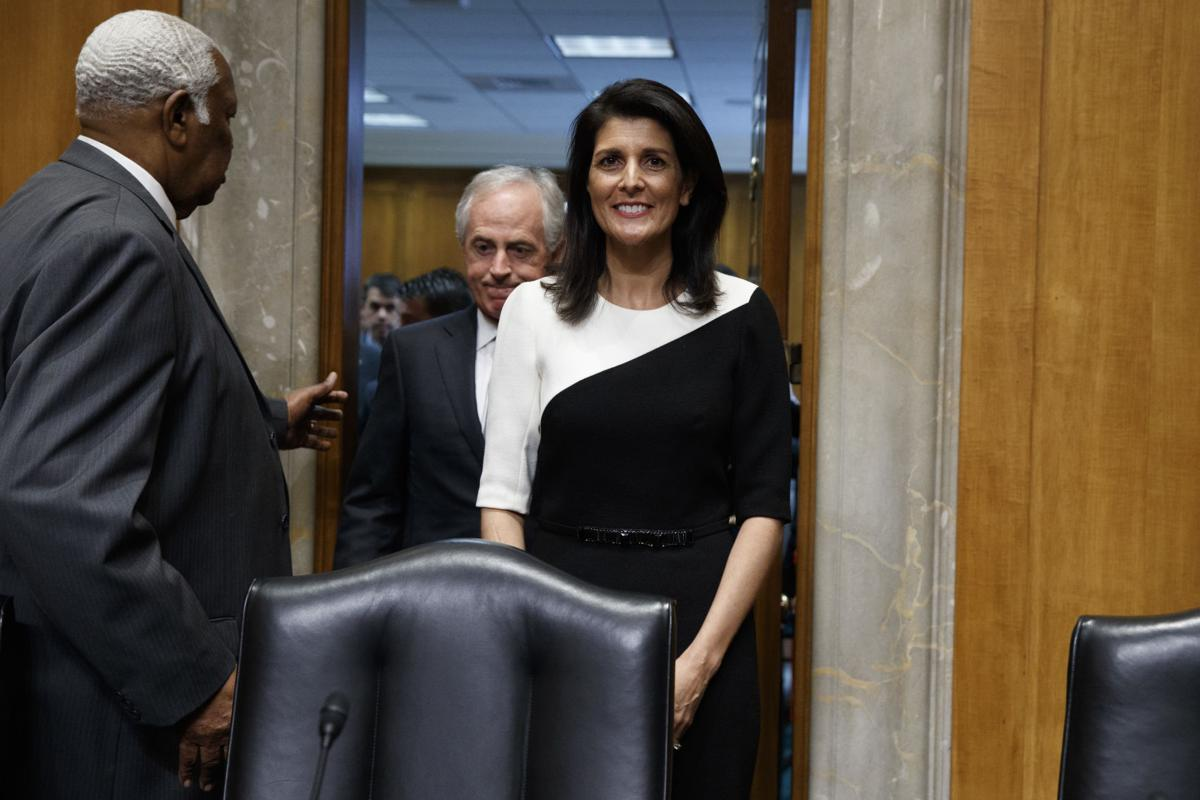 nikki haley confirmed by senate to be u n ambassador news trump un ambassador