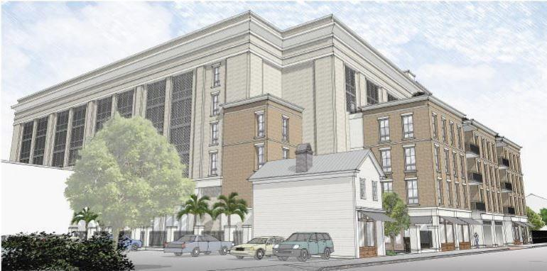 Old Charleston Building Set To Be Moved 30 Feet To Make Way For New Apartments Parking