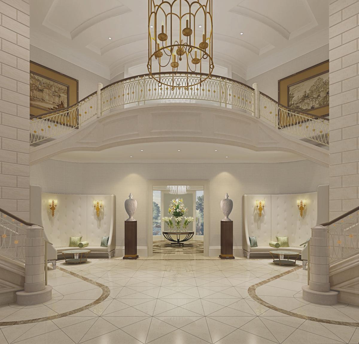 Foyer Of The Hotel : Bennett s new luxury hotel raises bar for charleston rates