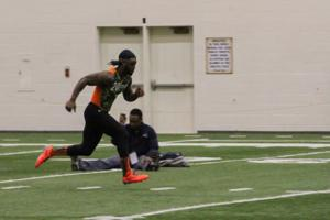 3/1/13 Football Pro Day, Josh Johnson