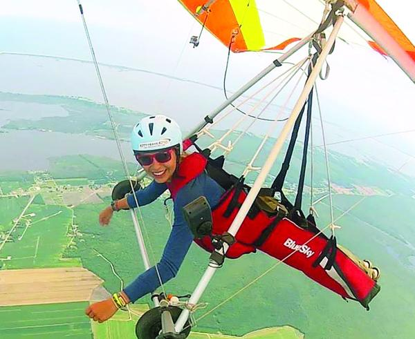 Boilermaker spends her summers in the air