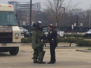 1/20/15 Suspicious Package at Co-Rec