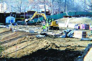 Crosswalk Commons Apartments Construction - 11/14