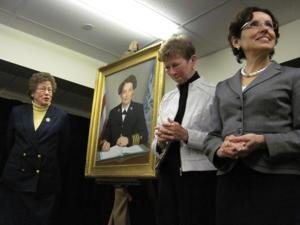 3/1/12 Dorothy Starron Honored, France Cordova