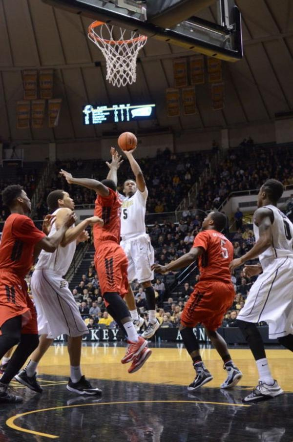 Men's Basketball: Unlikely contributor shines in Purdue victory