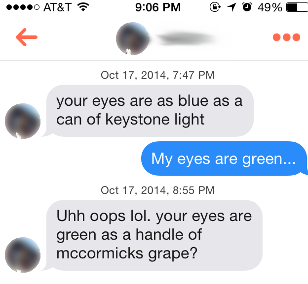 hooking up on tinder