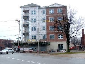 12/8/14 New Apartments, North by Northwest on Northwestern Avenue