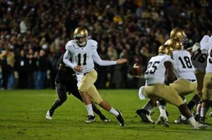 Oct. 1 Purdue football vs. Notre Dame