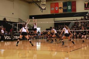 8/27/11 vs. VCU, Valerie Nichol and Tiffany Fisher