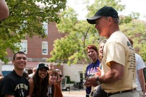 8/13/12 BGR Tradition Walk, Mitch Daniels
