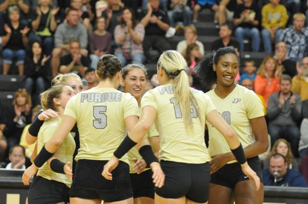 Purdue Volleyball: Boilers hope to add 30th 'P' link to Monon Spike