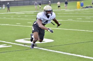 8/7/14 Fall Camp Day 4, Taylor Richards