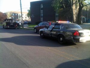 Boilermaker Special/Police Vehicle Accident