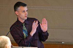 4/15/13 University Senate, Hal Kirkwood