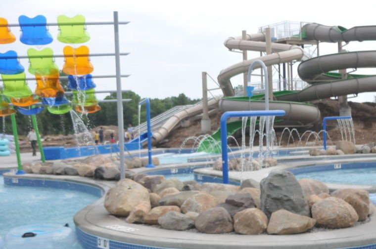 dedication of prophetstown state park aquatic center draws crowd city state
