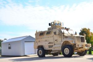 10/20/13 Military Vehicle at WLPD