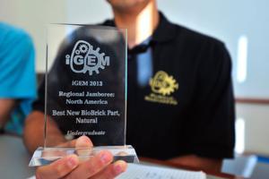 10/14/13 Purdue's iGem wins North America iGem Jamboree