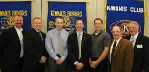 Kiwanis Club of Rock Island inducts new officers