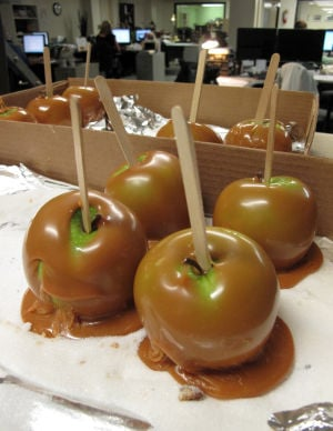 Thanks, Sue, for starting the caramel-apple tradition