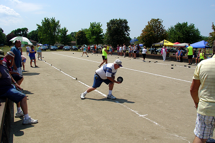 Rolle Bolle World Tourney Comes To Town Sports