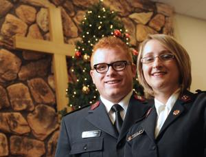 Couple called to Salvation Army service