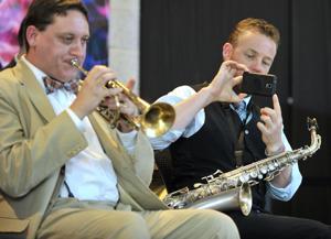 Bix's Cornet Played in Concert