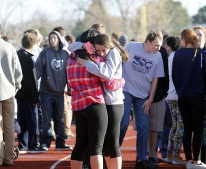 Gunman, 18, wounds classmate in Colorado school