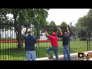 White House Fence security upgrades