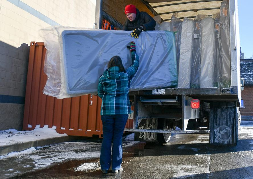 New beds help bethany recipients jump for christmas joy for Furniture quad cities