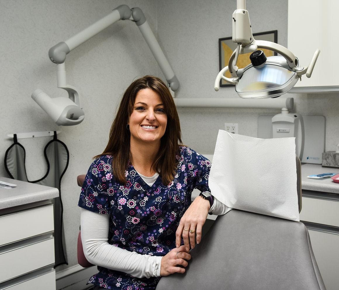 walk on a treadmill leads to career as dental hygienist pr102