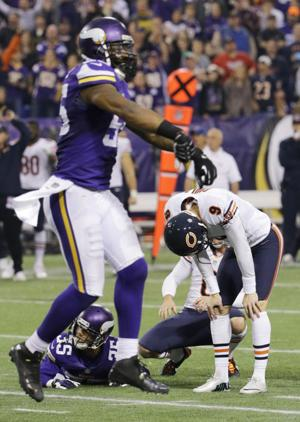 Not so golden Gould: From the highest of highs to lowest of lows for Bears' kicker