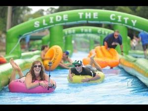 VIDEO: Slide the City