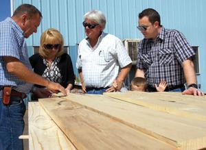 Lumber tour