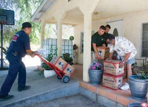 East Porterville water deliveries