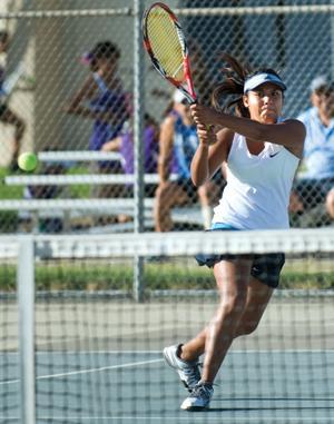 Monache nets a 9 0 tennis win porterville recorder sports for Galaxy 9 porterville