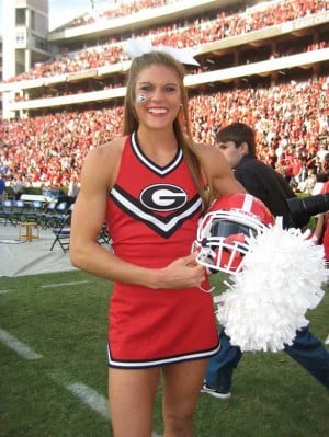 Photo Gallery Uga Cheerleader Anna Watson The Red And