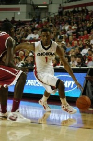 Bulldogs' winning streak halted at five, lose SEC opener to Crimson Tide 74-59