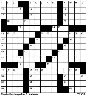 Crossword, July 23.jpg