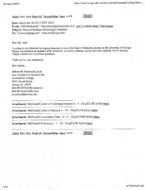 dr william m mcdonald cover letter r sum the red and black