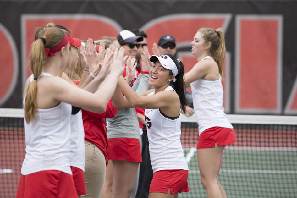 Georgia women's tennis defeats Mercer to open outdoor season