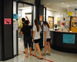 Dorm visitation policy stricter in Brumby Hall, students say