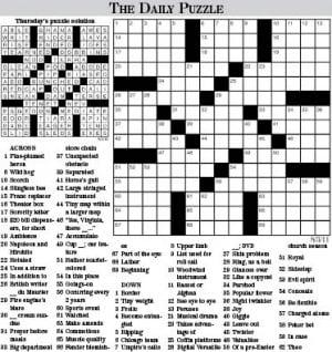 Black History Crossword Puzzle Printable