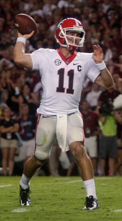 Georgia quarterback dating model-in-Maraecakaho